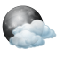 Sunday: Partly cloudy